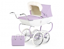 SNOW FAIRY DOLLS PRAM LILAC
